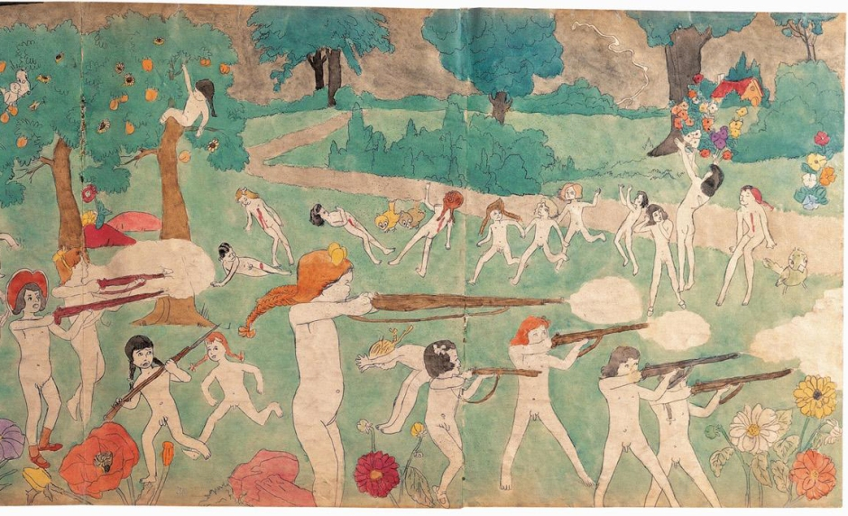 Henry-Darger-01---Untitled--double-sided--DETAIL-CROP-